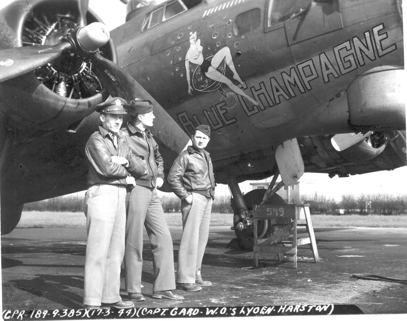 B-17 #42-37977 / Blue Champagne