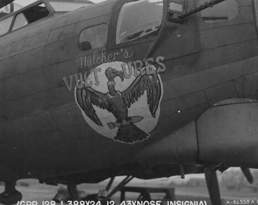 B-17 #42-39845 / Hulcher's Vultures