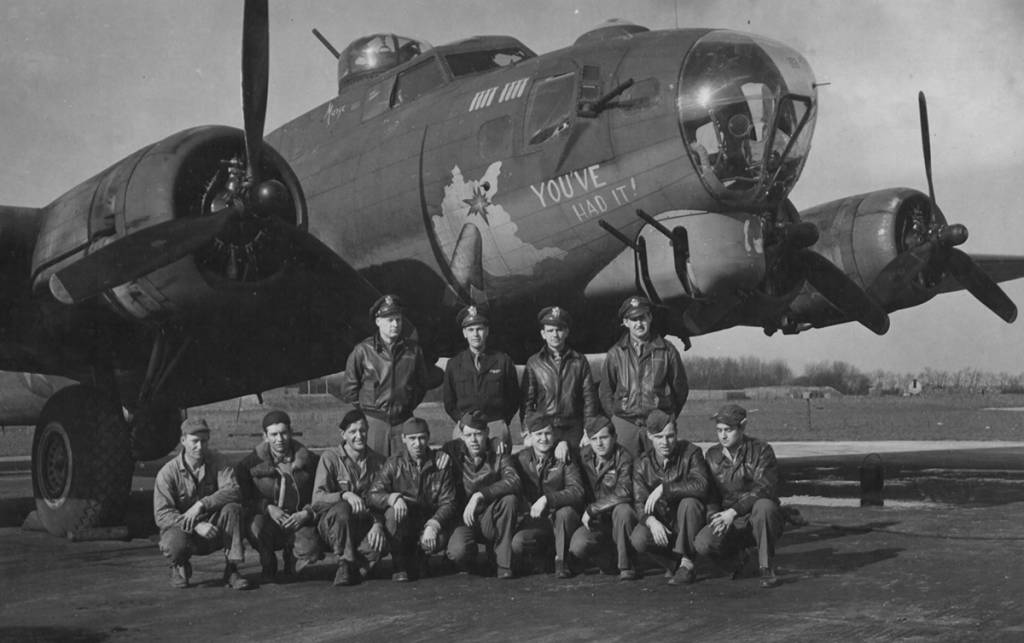 B-17 #42-39992 / You've Had It !