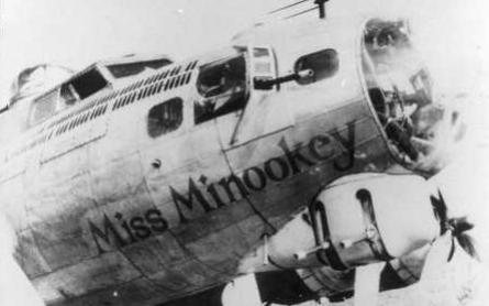 B-17 #43-37795 / Miss Minookey