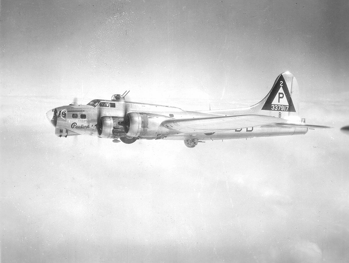 B-17 #43-37917 / Pauline