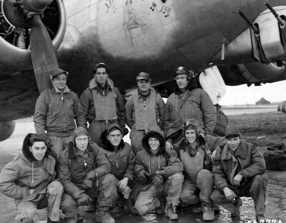B-17 #43-38733 / I'll Be Seeing You