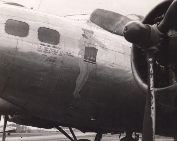B-17 #43-39080 / Girl with Towel