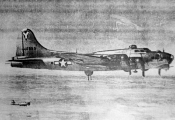 B-17 #44-6555