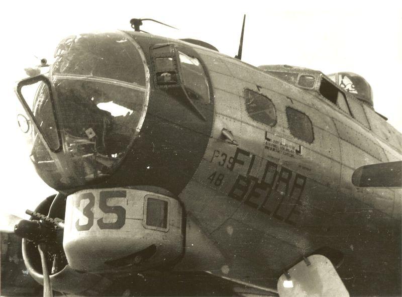 B-17 #44-8035 / Flora Belle