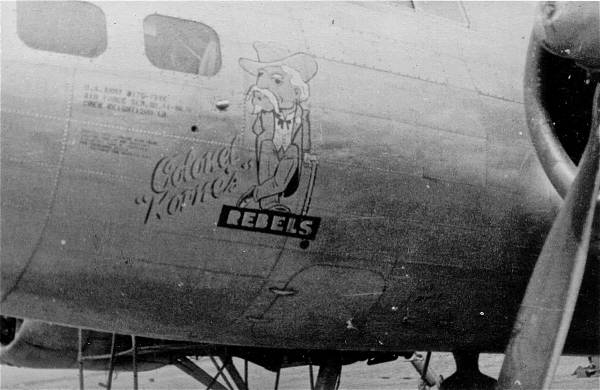 B-17 #44-8676 / Colonel Korne's Rebels
