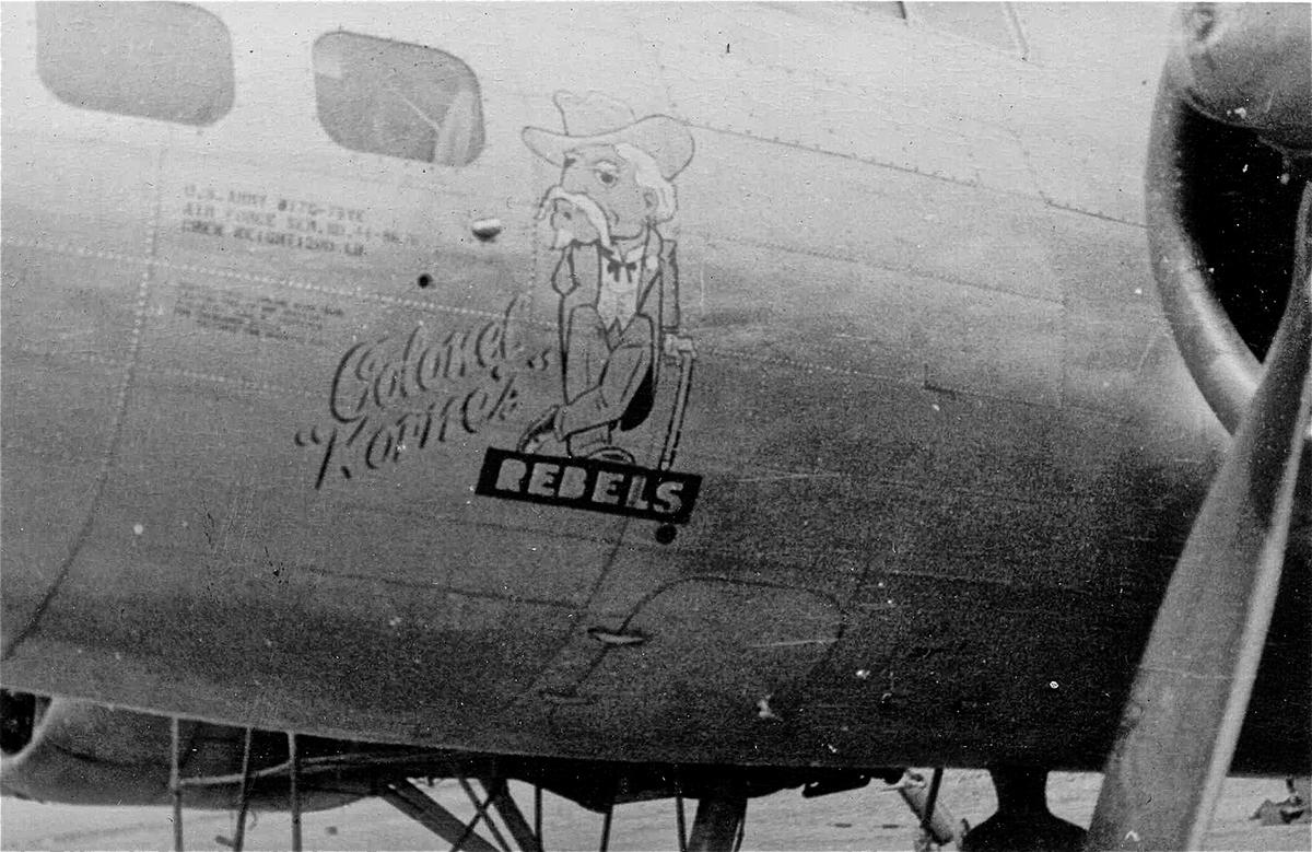B-17 #44-8676 / Colonel Korne's Rebels