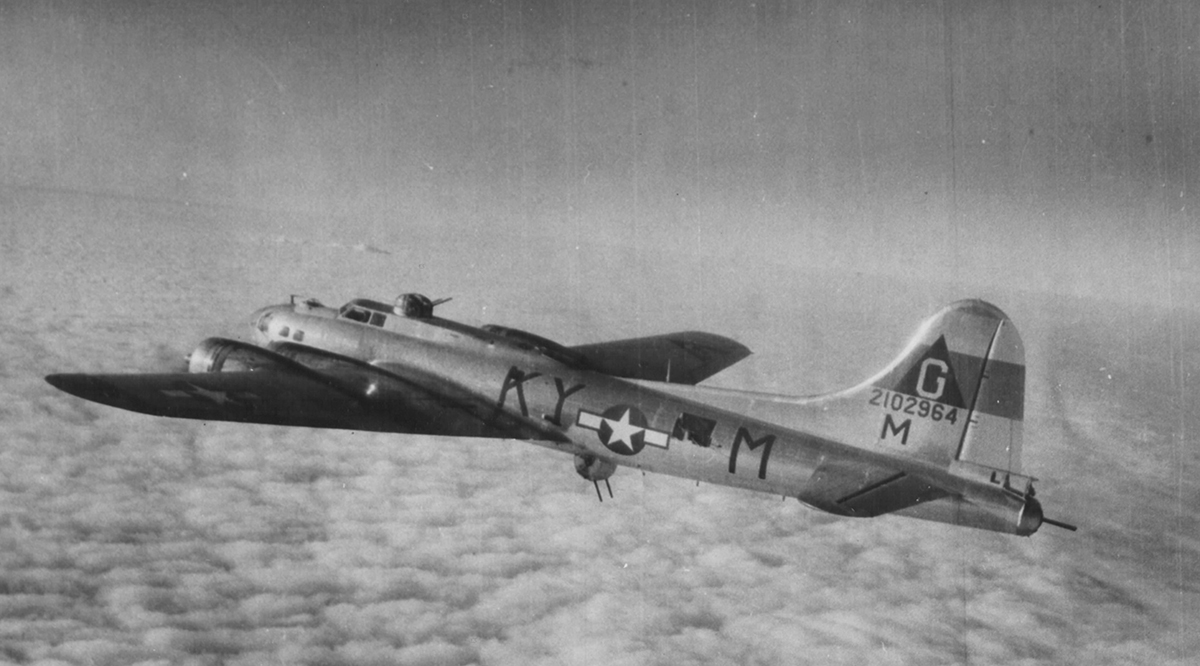 B-17 #42-102964 / Miss Yvonne
