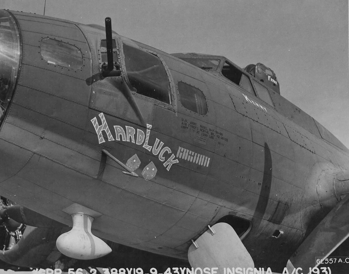 B-17 #42-30193 / Hard Luck