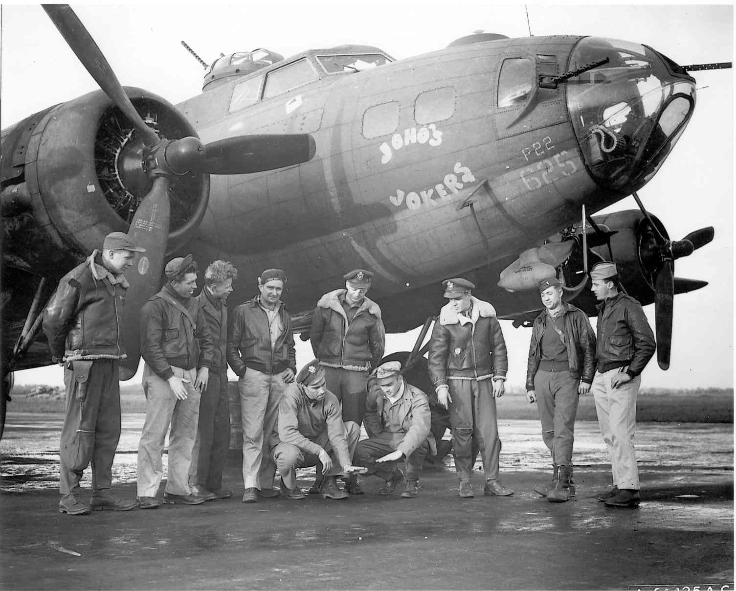 B-17 #42-30625 / Joho's Jokers
