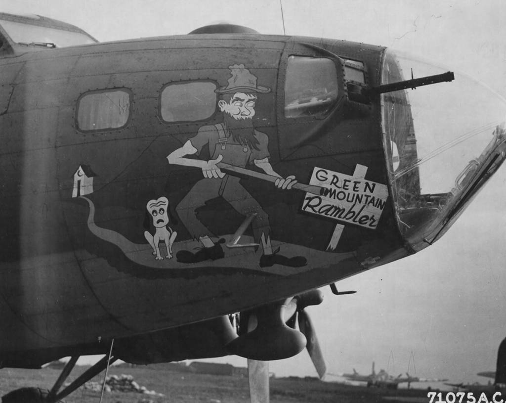 B-17 #42-30643 / Green Mountain Rambler