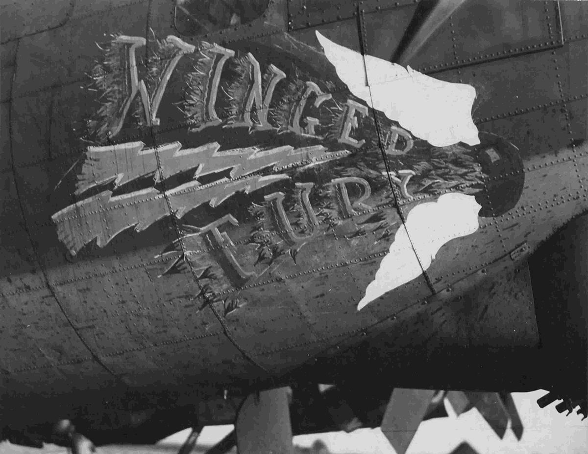 B-17 #42-31138 / Winged Fury