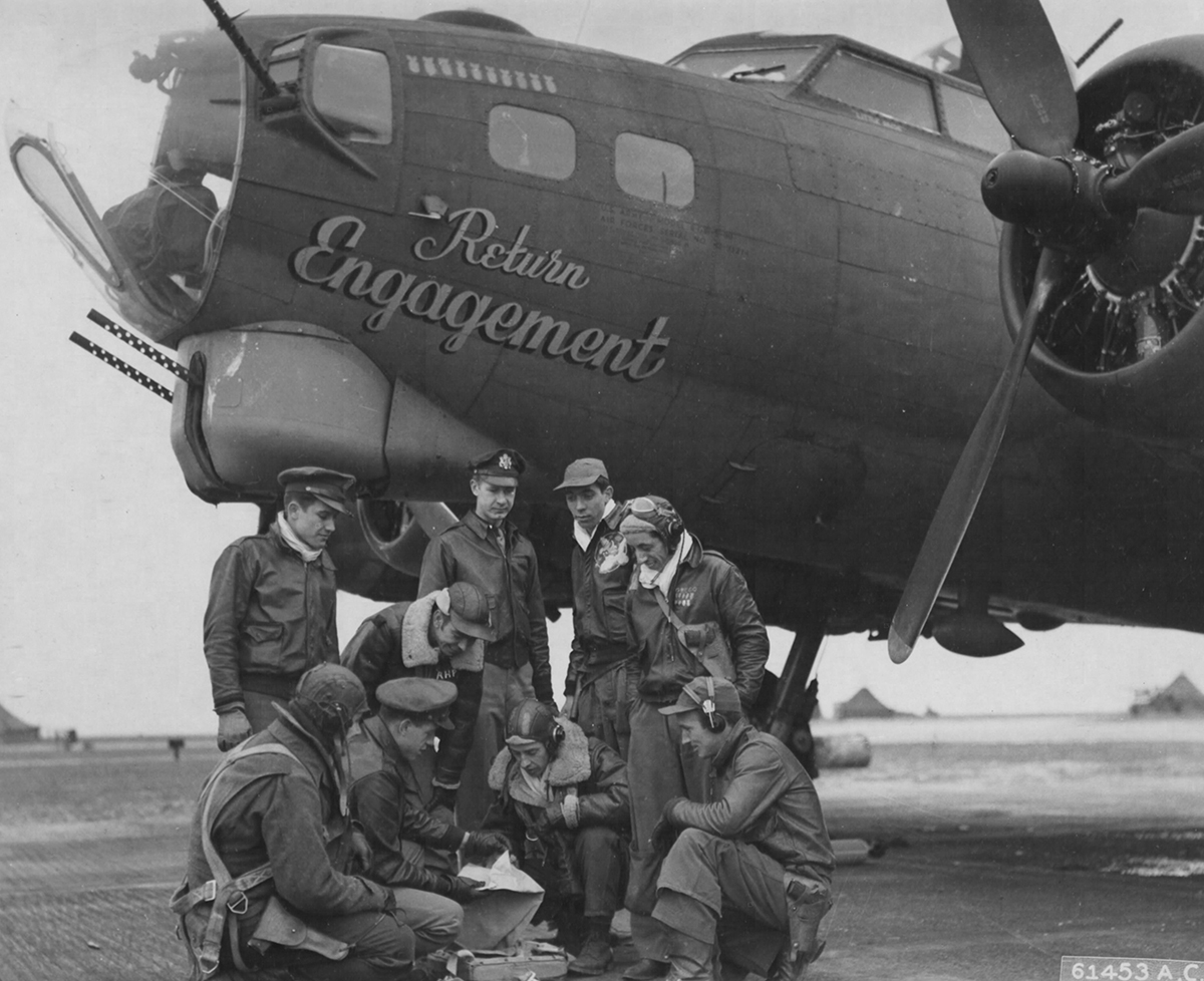 B-17 #42-31214 / Return Engagement