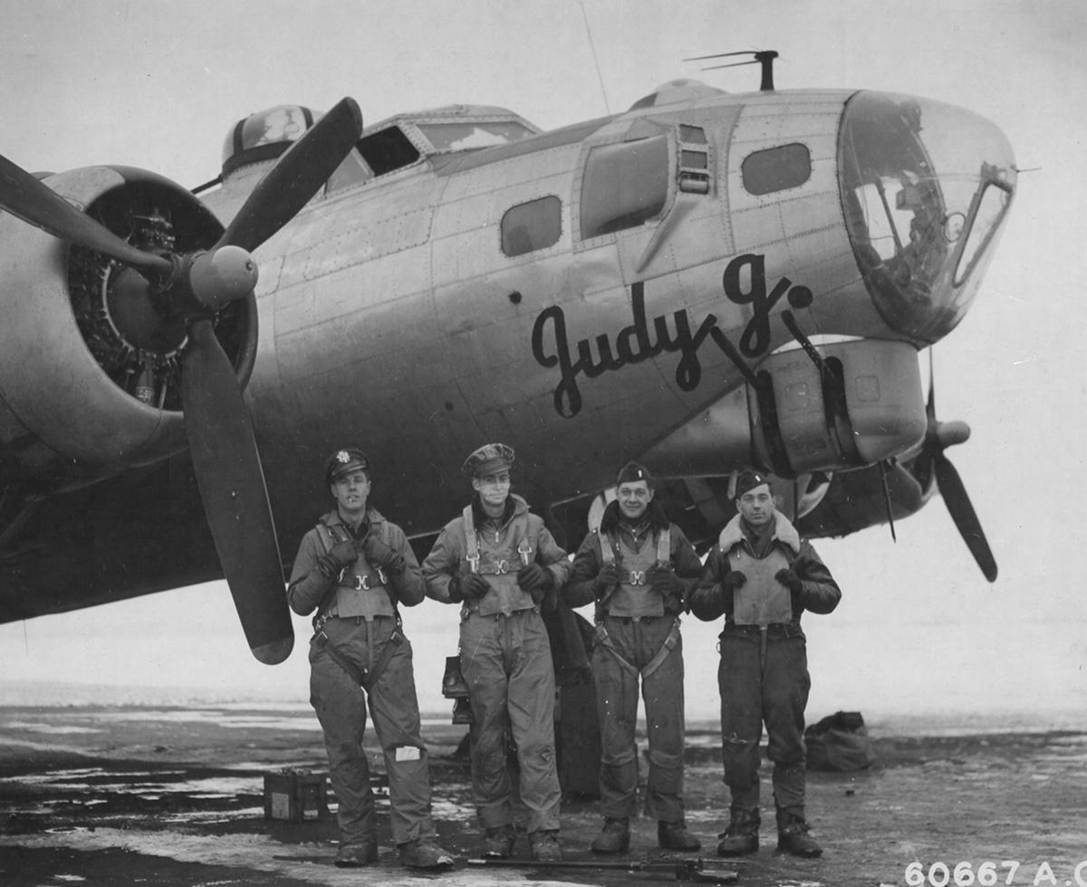 B-17 #42-97748 / Judy J.