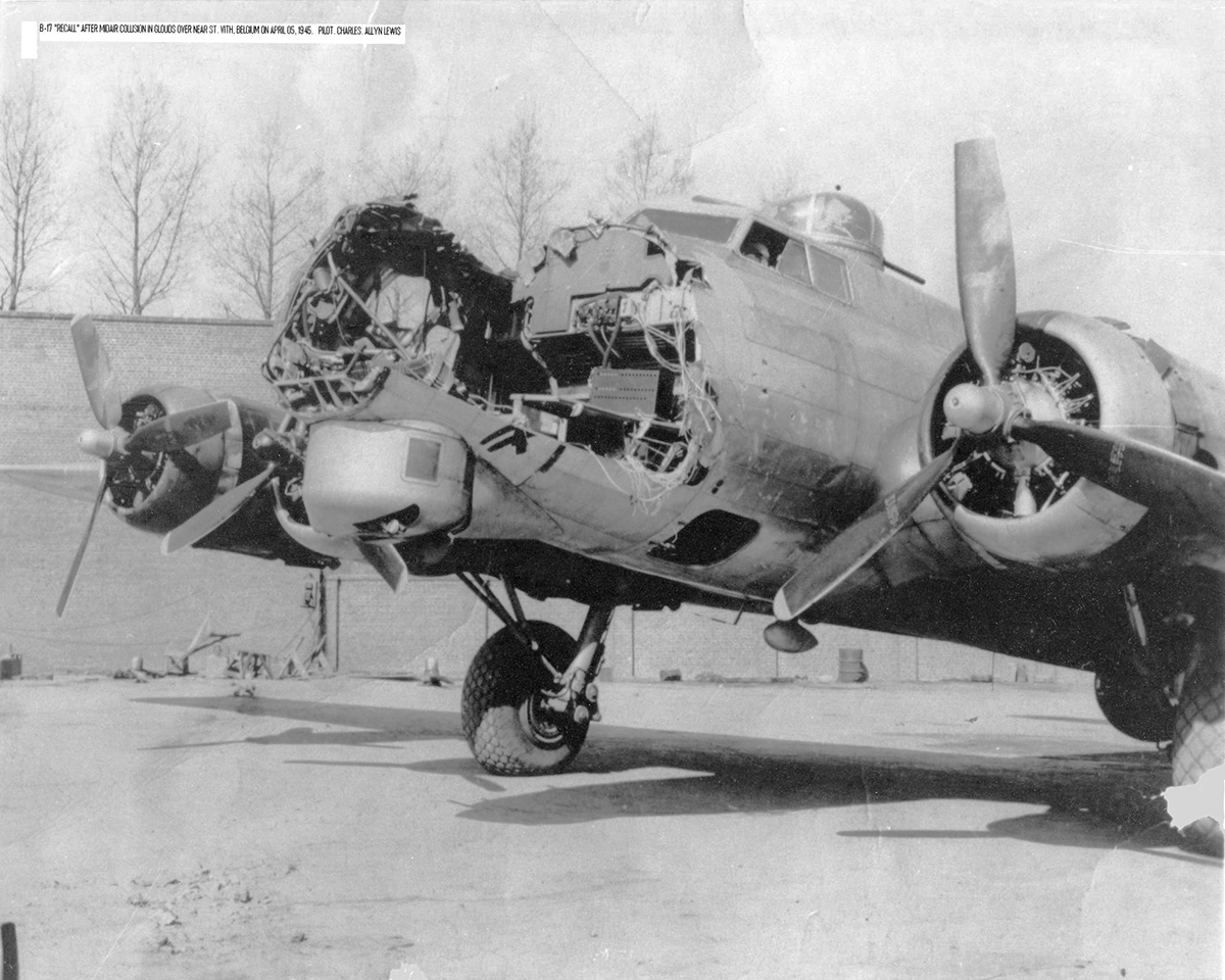 B-17 #44-8430 / Recall