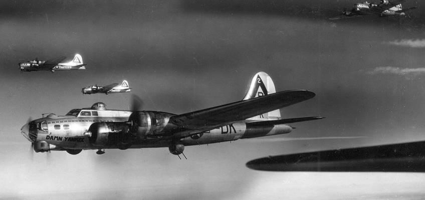 Boeing B-17 #42-102518 / Damn Yankee