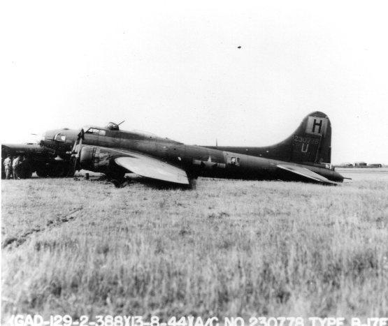 B-17 #42-30778 / Lady Margaret