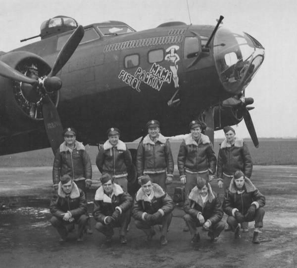 B-17 #42-30791 / Pistol Packin' Mama