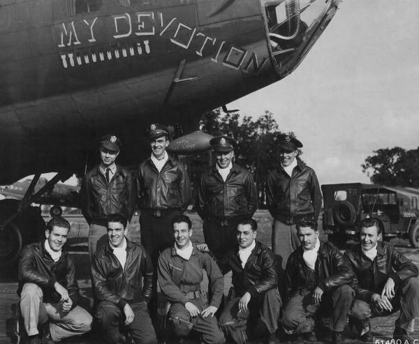 B-17 #42-30863 / My Devotion