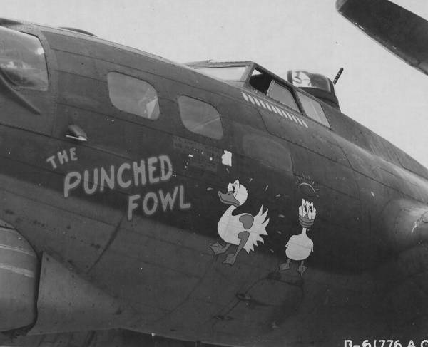 B-17 #42-31361 / The Punched Fowl
