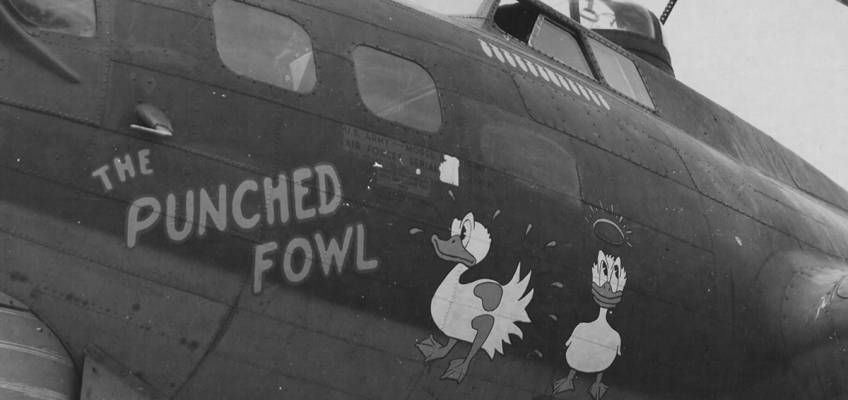 Boeing B-17 #42-31361 / The Punched Fowl