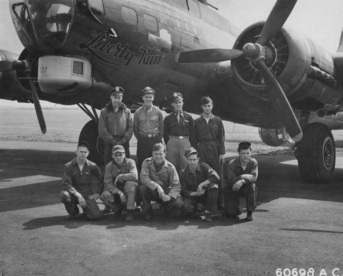 B-17 #42-38037 / Liberty Run