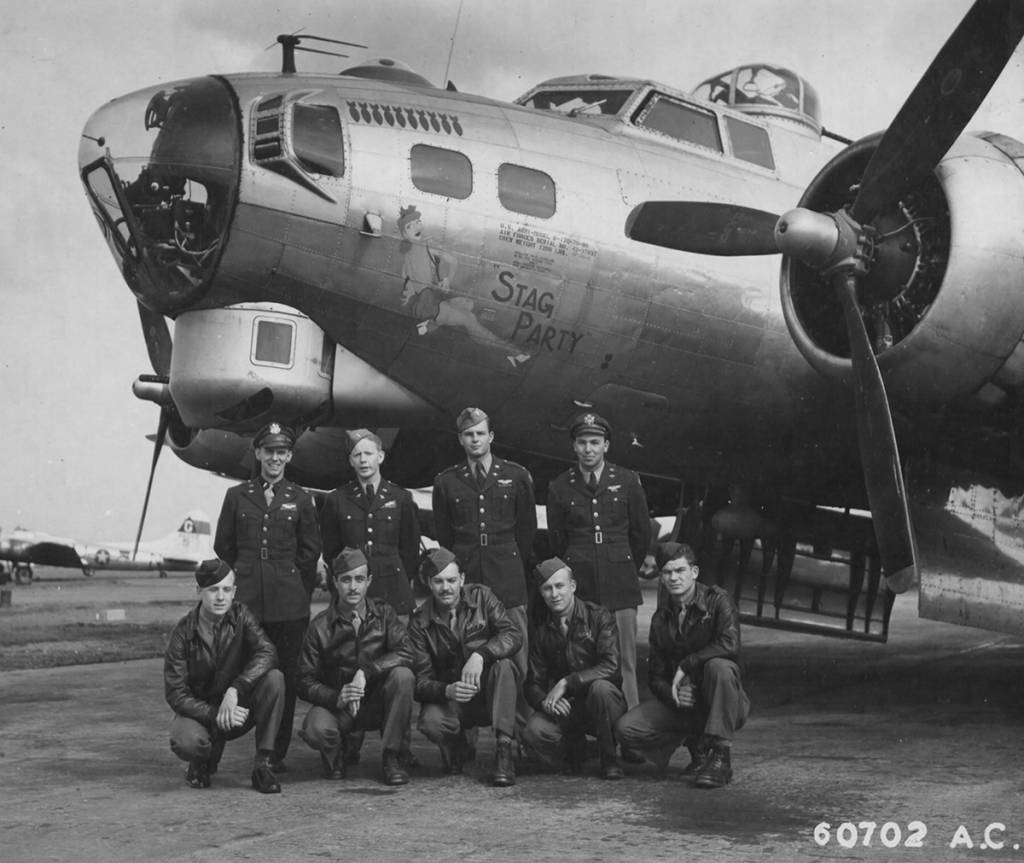 B-17 #43-37837 / Stag Party