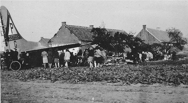 B-17 #43-37990 / Parker's Madhouse crash site