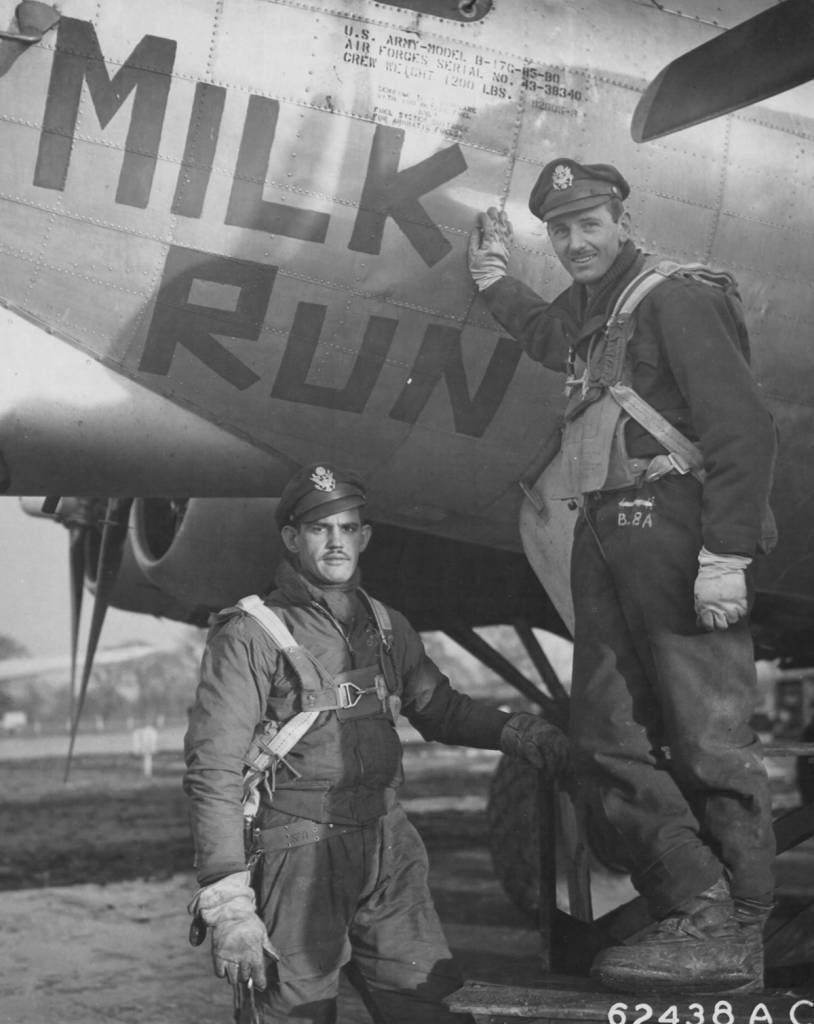 B-17 #43-38340 / Milk Run