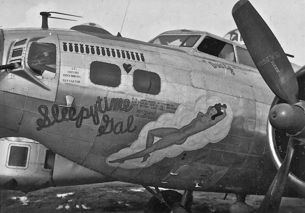 B-17 #43-38362 / Sleepytime Gal