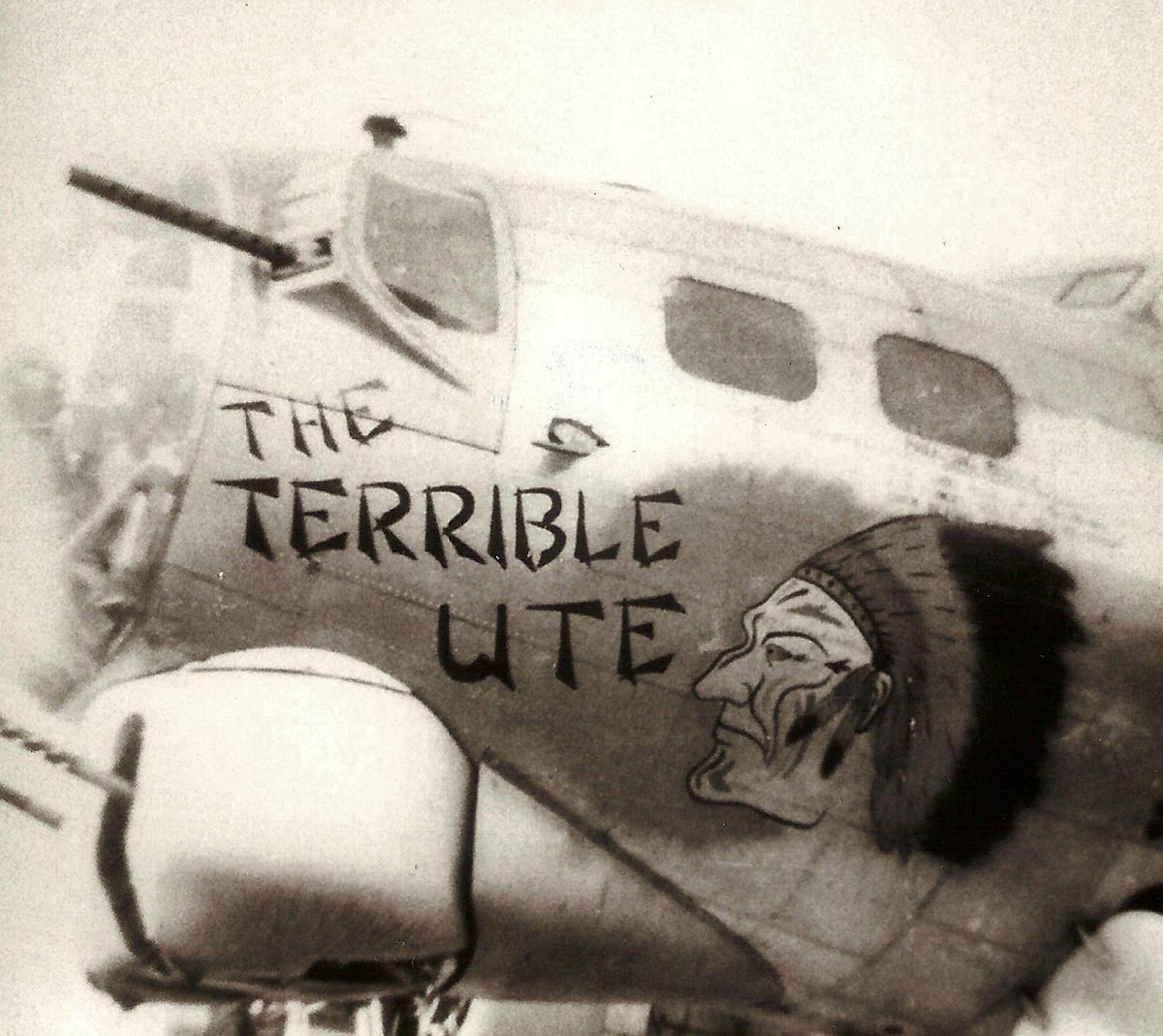 B-17 #43-39060 / The Terrible Ute