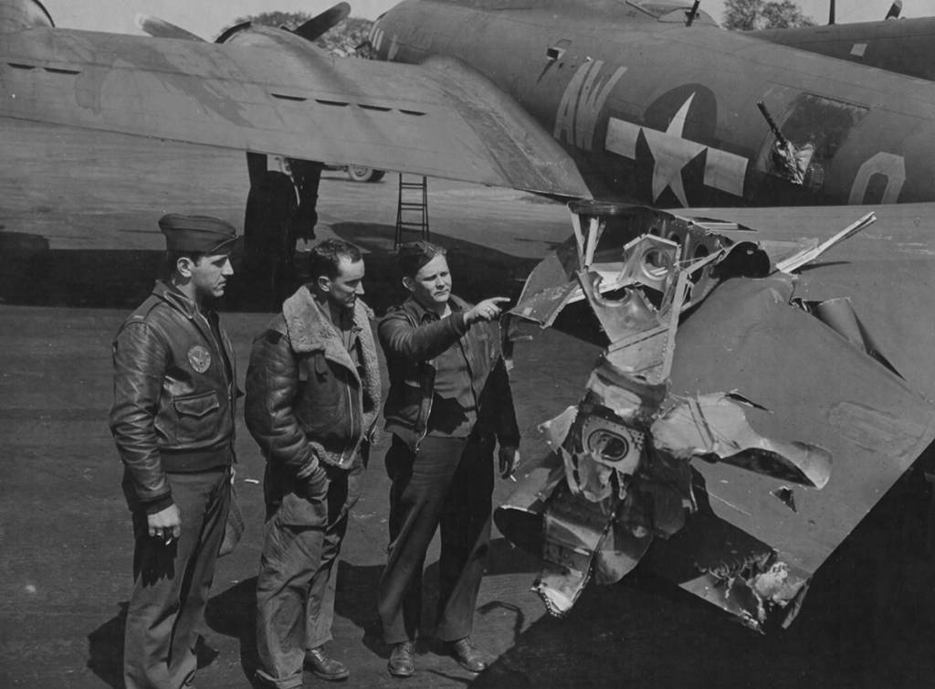 B-17 #42-38133 / Reluctant Dragon
