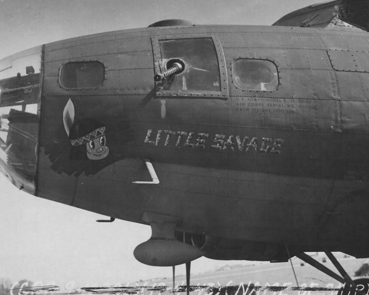 B-17 #42-5420 / Little Savage