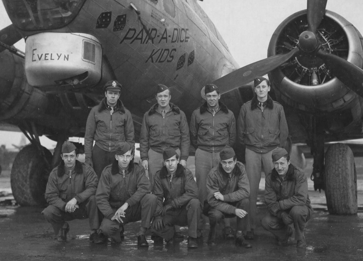 B-17 #44-8314 / Pair-a-Dice Kids