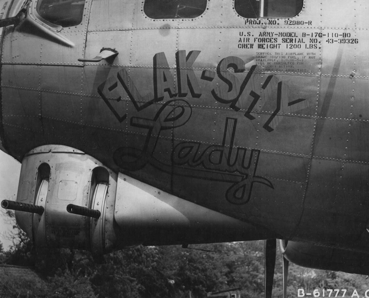 B-17 #43-39326 / Flak Shy Lady