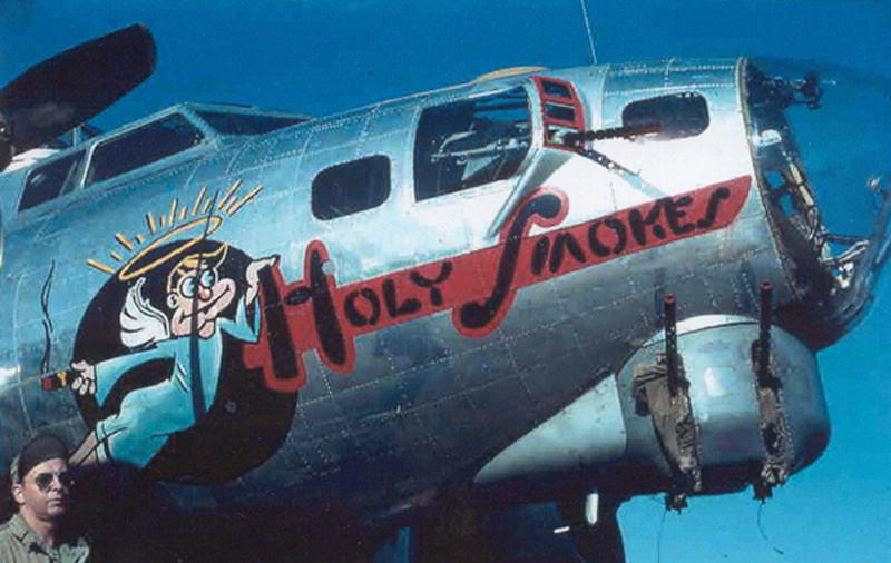 B-17 #43-37787 / Holy Smokes