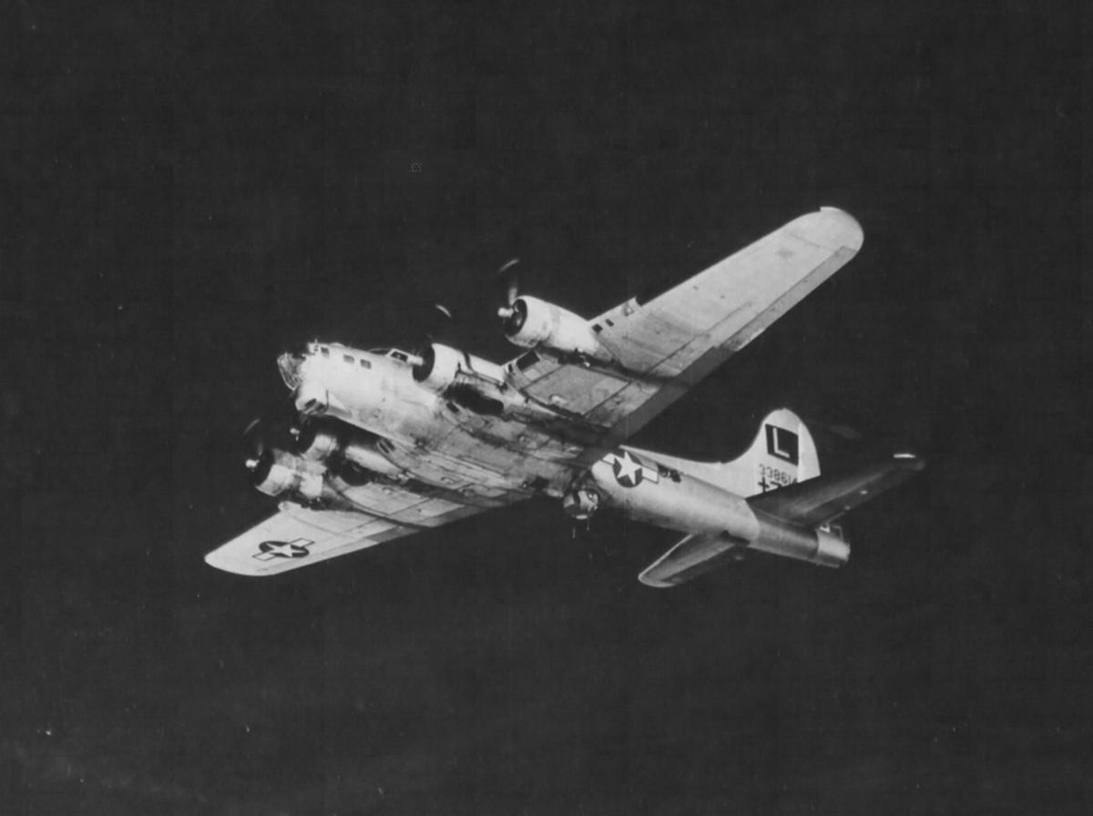 B-17 #43-38614 / Utah Gal