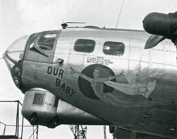 B-17 #44-8362 / Our Baby