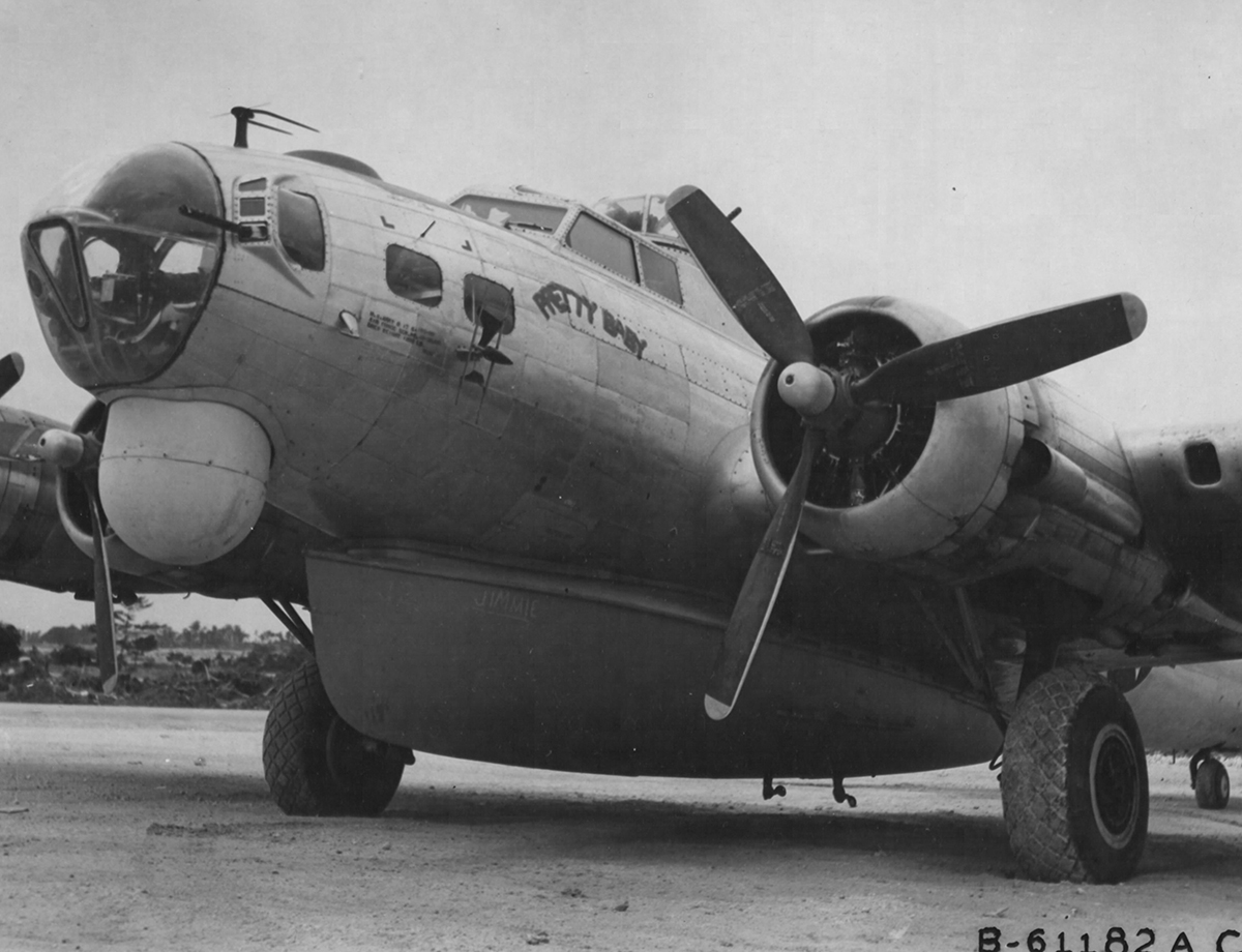 B-17 #43-39266 / Pretty Baby
