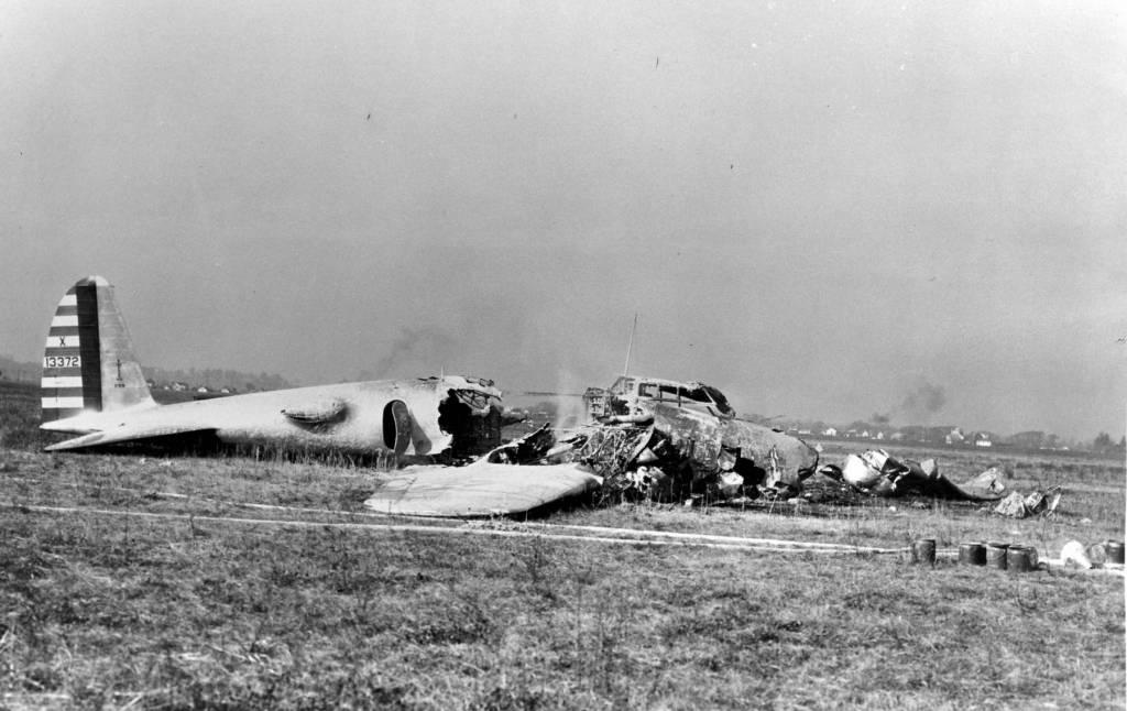 Modell 299 (XB-17) - NX13372 Crash