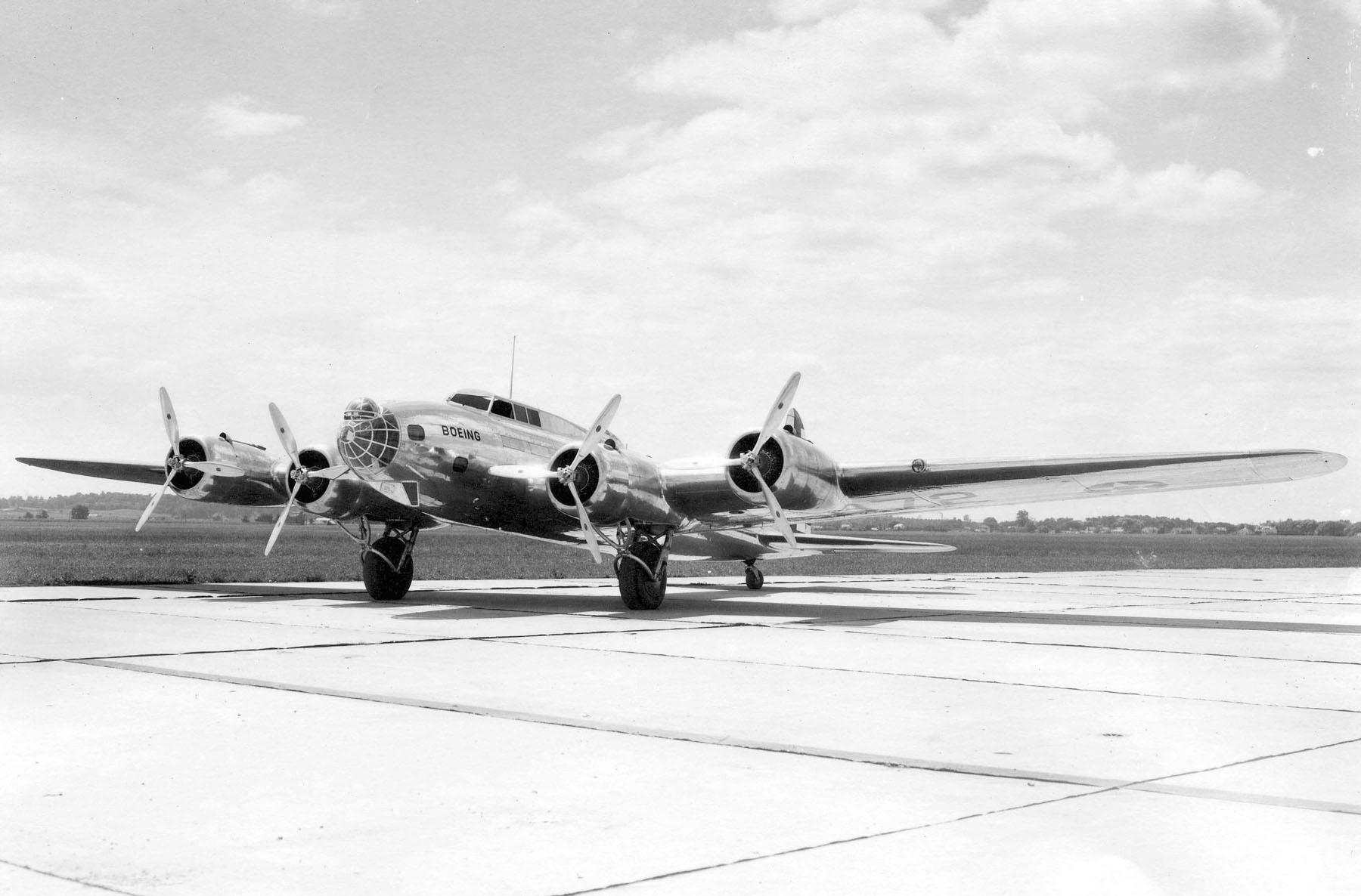 B-17 #Modell 299 (XB-17) – NX13372