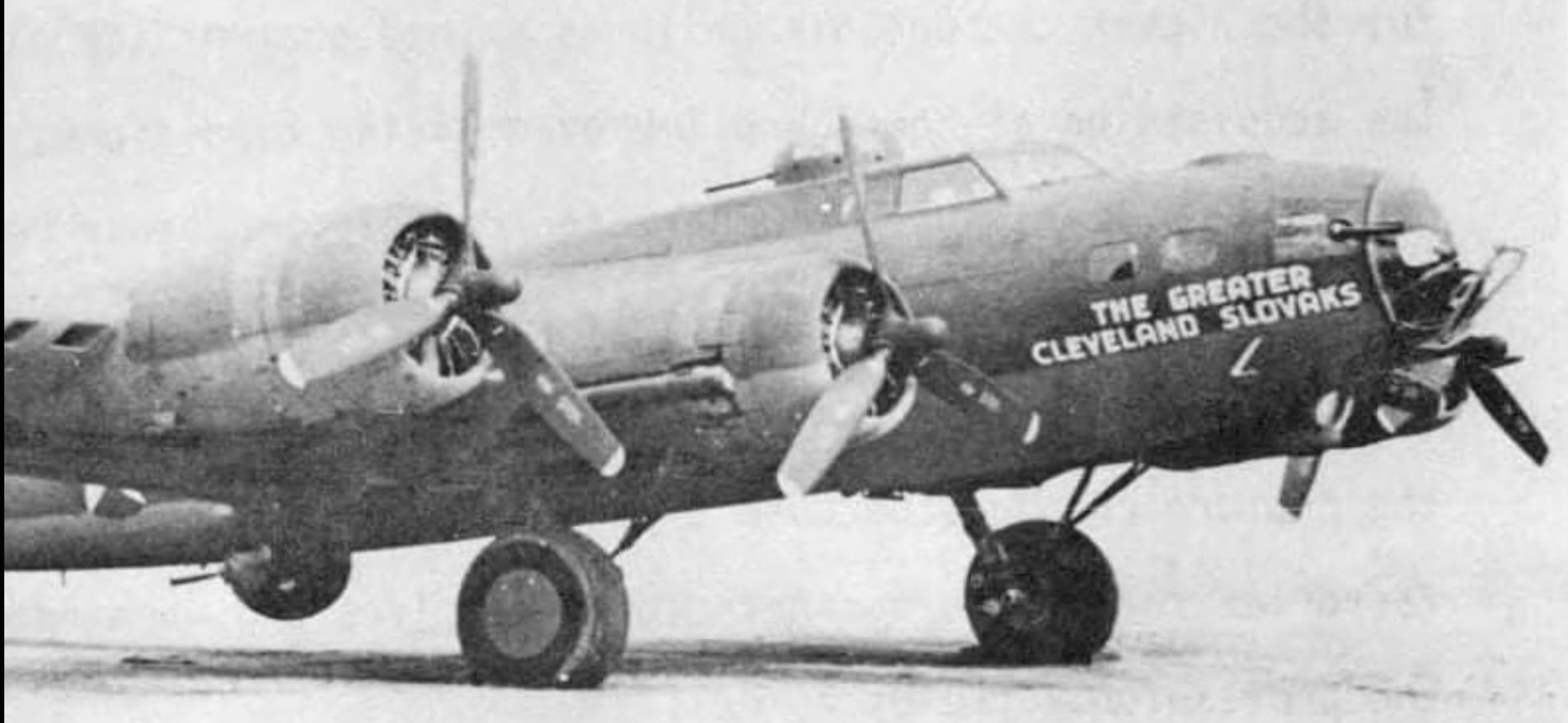 B-17F 'The Greater Cleveland Slovaks'