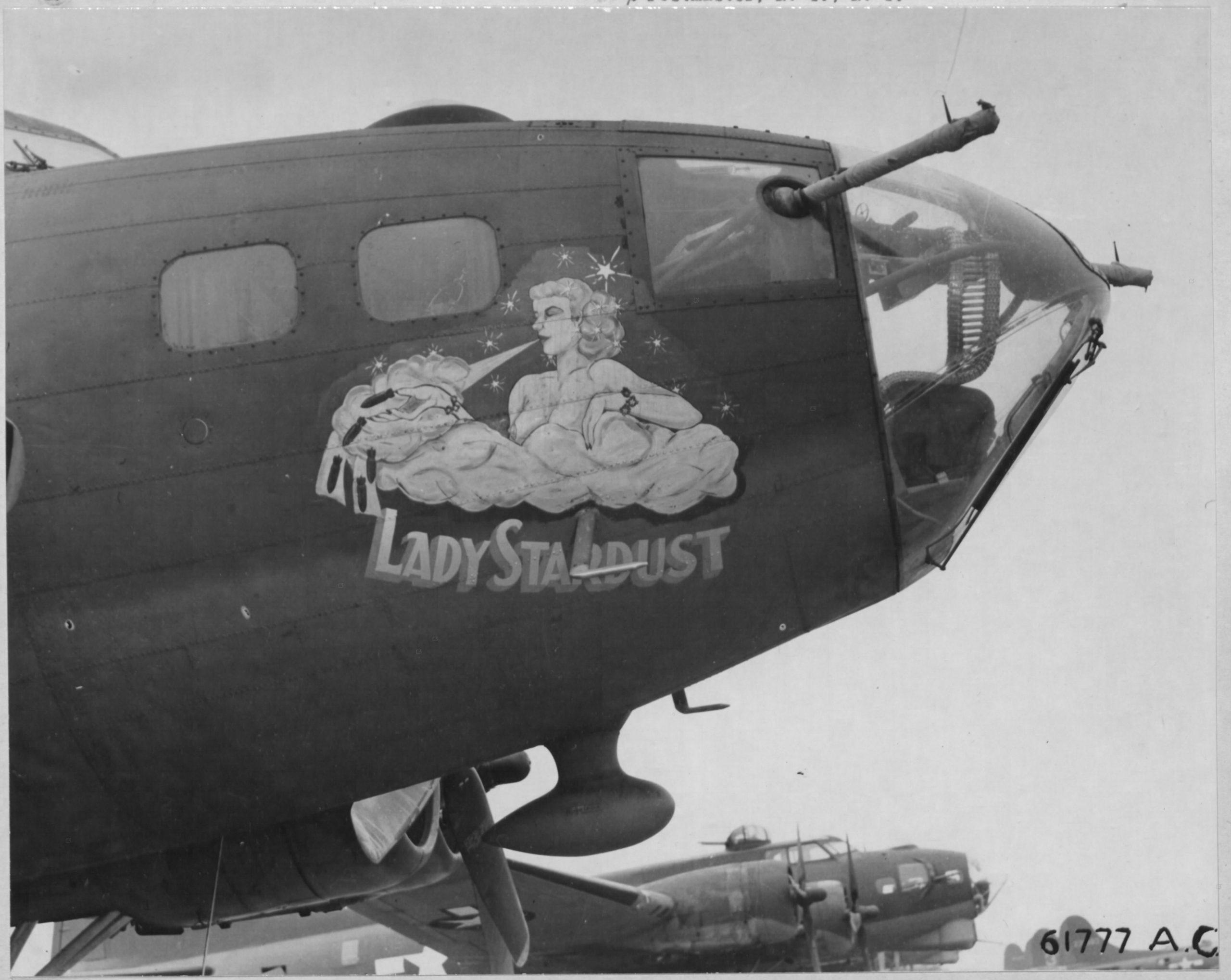 B-17F 'Lady Stardust' – Seriennummer unbekannt