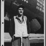 S/Sgt. Leon E. Piatek and the unknown B-17